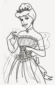 coloring pages cinderella free printable coloring pages