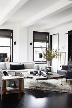 neutral contemporary apartment by w c h design industrial verve in an uptown loft modern farmhouse