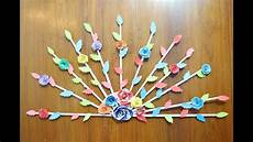 Home Decor Ideas Diy With Paper by Diy Home Door Decor Idea Paper Crafts For Home