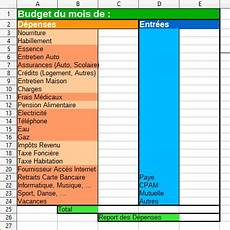 tableau budget familial gratuit à imprimer tableau budget familial mensuel 224 imprimer