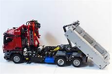lego technic mercedes arocs hook lift hds www