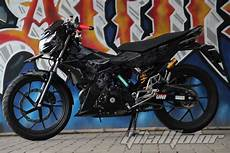 Modifikasi Satria Fu 2018 by Foto Motor Satria Fu 2018 Modifikasi Otto Modifikasi