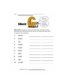 silent letter g worksheets 24641 spelling pattern variations worksheets
