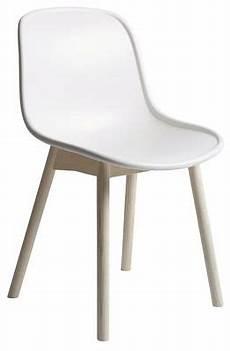 chaise neu hay blanc bois naturel made in design