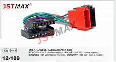 Jstmax Iso Cable Car Radio Stereo Adapter Radio For