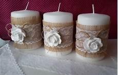 come decorare candele candele decorative shabby per la casa e per te