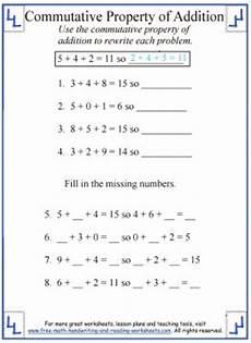 associative property of addition worksheets grade 3 9208 commutative property of addition definition worksheets