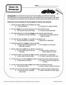 homographs worksheets and sentences pinterest