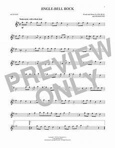 jingle bell rock sheet music bobby helms alto sax solo