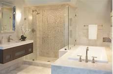 Fliesen Beige Bad - the beige marble bath