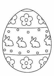 printable easter egg coloring pages at getcolorings