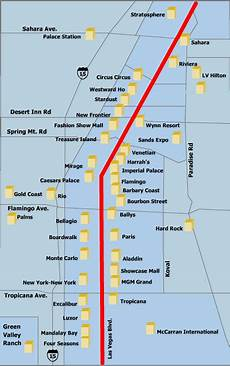 map of vegas strip hotels