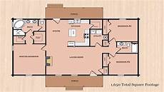 1600 sq foot house plans ranch house plans 1600 square feet see description youtube