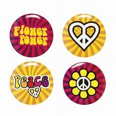 4 pins hippie flower power deguise toi achat de accessoires