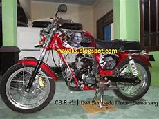 Scorpio Modif Cb by Modifikasi Honda Cb Ri 1 V Scorpio Dsm Semarang