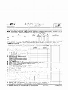 form 8839 fill out and sign printable pdf template signnow