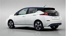 2018 Nissan Leaf Packs More Range Lower Cost Into Sleek Look