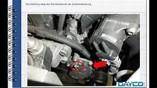 Ford 2002 Schwachstellen - auswechselung steuerriemen und wasserpumpe ford c max 1600