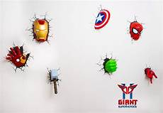 super cool avengers 3d wall deco night lights for sale 3d wall night lights in 2019 led