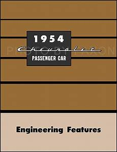 auto body repair training 1954 chevrolet corvette regenerative braking 1954 chevrolet accessories installation manual reprint chevy car truck
