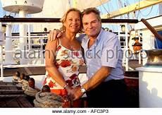 fritz wepper und ehefrau angela stock photo royalty free