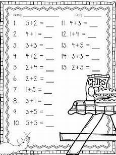 ant addition freebie 2 simple addition worksheets and 1