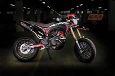 Modifikasi Motor Crf by Honda Crf150 Supermoto Lebih Keren Dari Trail