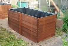 Hochbeet Holz Selber Bauen - hochbeet selber bauen aus holz und metall raised garden
