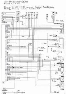 1990 nissan 300zx wiring diagram nissan 240sx 1989 1990 repair manual rpdf