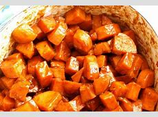 easy stove top candied sweet potatoes image