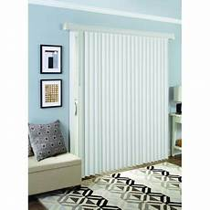 Homes And Gardens Vertical Blinds by Mainstays Cordless 1 Quot Vinyl Light Filtering Blinds White