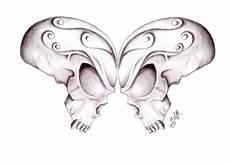Butterfly Skulls By Gsaw On Deviantart