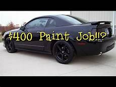 what does a 400 maaco paint really like youtube