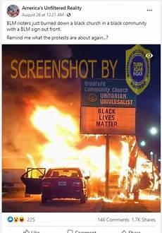 Salah Gereja Dibakar Saat Protes Black Lives Matter Di