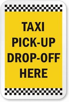 Taxe Up Taxi Up Drop Sign Sku K 8911