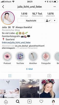 instagram biografie vorlagen schrift