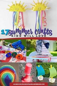 basteln sommer kinder 17 great summer crafts for spaceships and laser beams