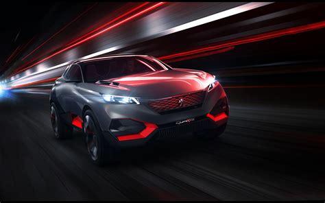 2014 Peugeot Quartz Concept Wallpaper