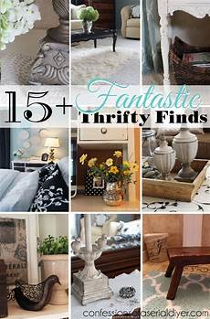 my thrifty decor 15 fantastic thrifty finds confessions of a serial do it yourselfer