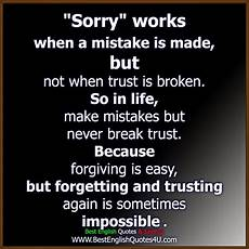 quot sorry quot works best quotes sayings