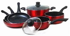 swiss koch kitchen collection cenocco cc 9004 cookware set with marble coating 8pcs