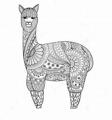 Ausmalbilder Tiere Lama Llama Coloring Pages Free Printable Coloring Pages At