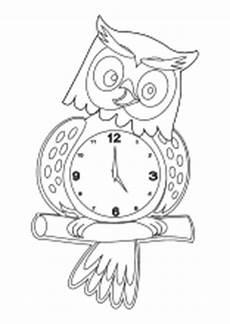 Kinder Malvorlagen Uhr Uhren Und Uhrzeit Arbeitsbl 228 Tter Lernuhr Basteln