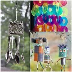 Windspiel Basteln Mit Kindern - wind chime crafts