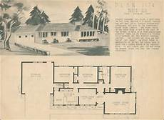 1950s ranch house plans 1950 home nbuilding plan service plan 1174 building