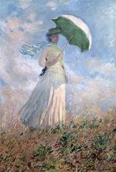 Le Frau Mit Schirm - la femme au parasol susanne hosched 233 huile sur toile