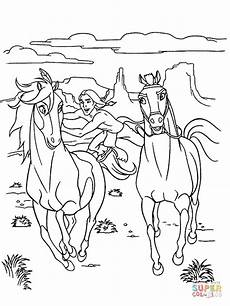 spirit coloring pages