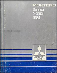 old cars and repair manuals free 1984 mitsubishi space engine control 1984 mitsubishi montero repair shop manual original