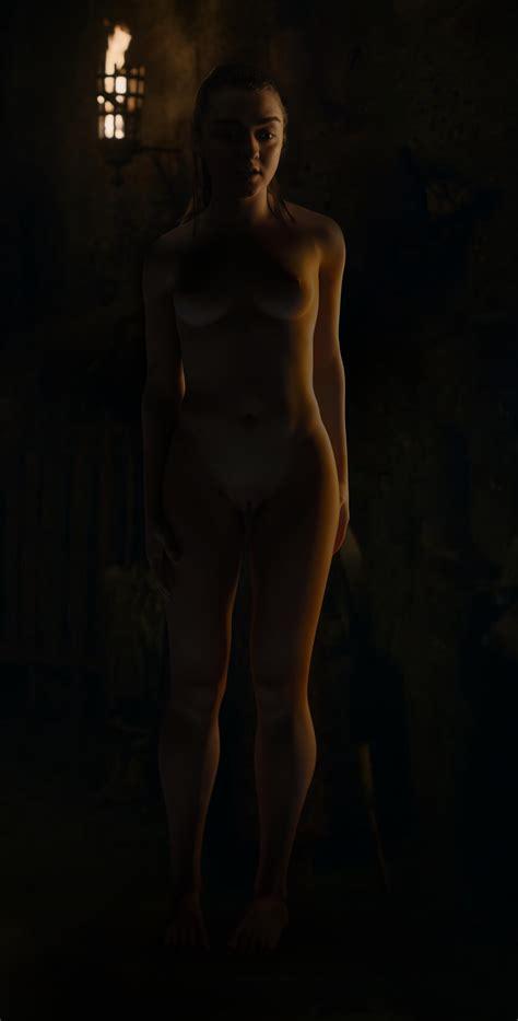Arya Stark Nude