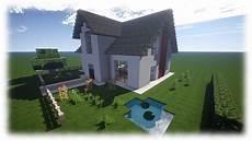 minecraft haus tutorial einfamilienhaus neu